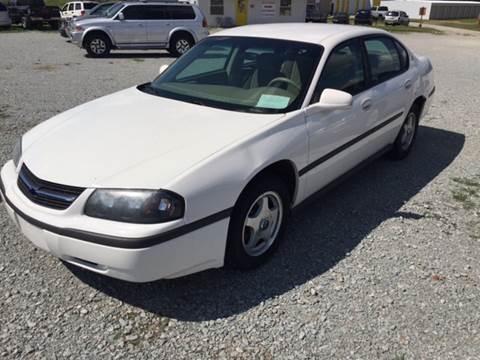 2003 Chevrolet Impala for sale at El Dorado Auto Sales in Bells TN