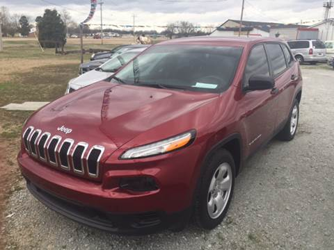 2016 Jeep Cherokee for sale in Bells, TN