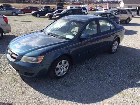 2007 Hyundai Sonata for sale at El Dorado Auto Sales in Bells TN