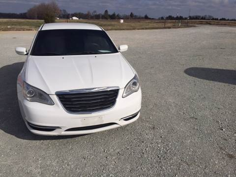2013 Chrysler 200 for sale at El Dorado Auto Sales in Bells TN