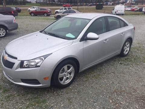 2014 Chevrolet Cruze for sale at El Dorado Auto Sales in Bells TN