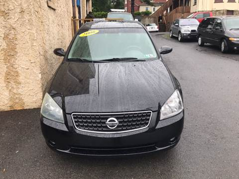 2006 Nissan Altima for sale in Easton, PA