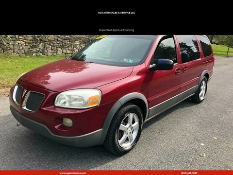 2005 Pontiac Montana SV6 for sale in Easton, PA