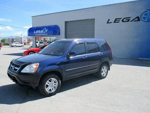 2002 Honda CR-V for sale at LEGACY AUTO SALES in Boise ID
