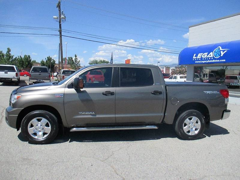 2008 Toyota Tundra for sale at LEGACY AUTO SALES in Boise ID