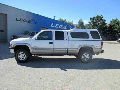 2002 Chevrolet Silverado 1500 for sale at LEGACY AUTO SALES in Boise ID