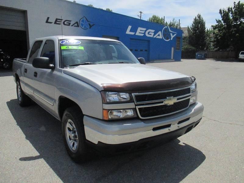 2007 Chevrolet Silverado 1500 for sale at LEGACY AUTO SALES in Boise ID