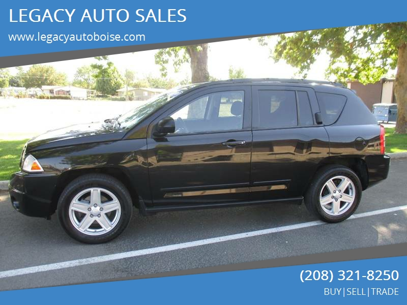 2010 Jeep Compass For Sale At LEGACY AUTO SALES In Boise ID