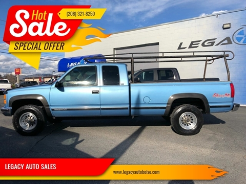 1997 GMC Sierra 2500 for sale in Boise, ID