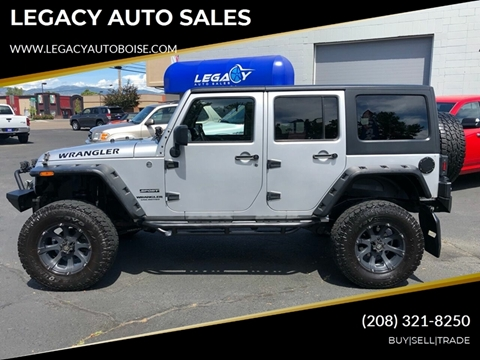 2011 Jeep Wrangler Unlimited for sale in Boise, ID