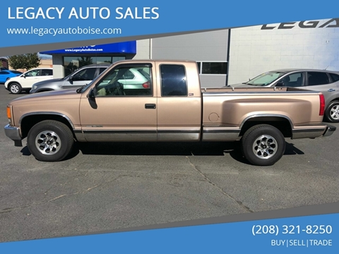 LEGACY AUTO SALES – Car Dealer in Boise, ID