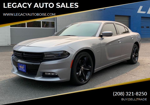 2018 Dodge Charger for sale at LEGACY AUTO SALES in Boise ID