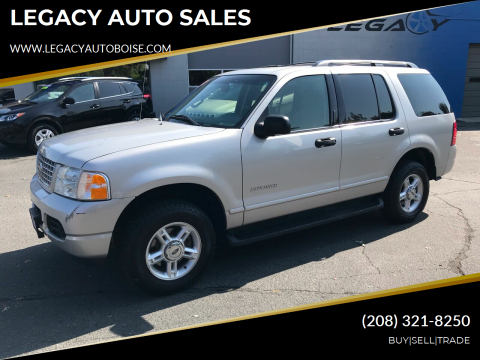 2004 Ford Explorer for sale at LEGACY AUTO SALES in Boise ID