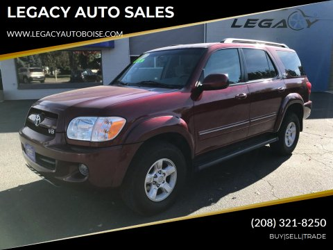 2007 Toyota Sequoia for sale at LEGACY AUTO SALES in Boise ID