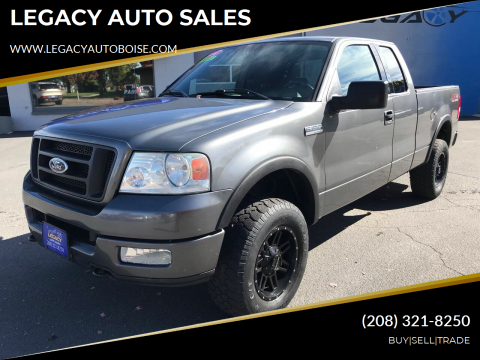 2004 Ford F-150 for sale at LEGACY AUTO SALES in Boise ID