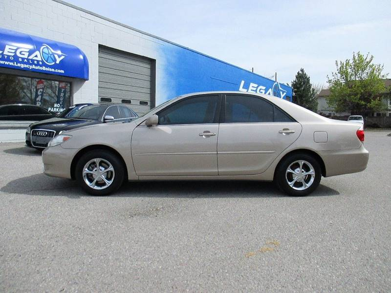 2005 Toyota Camry for sale at LEGACY AUTO SALES in Boise ID