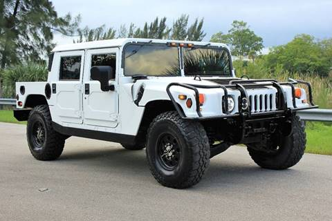 1998 AM General Hummer for sale in Davie, FL
