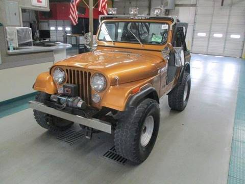 1978 Jeep CJ-5 for sale in Davie, FL
