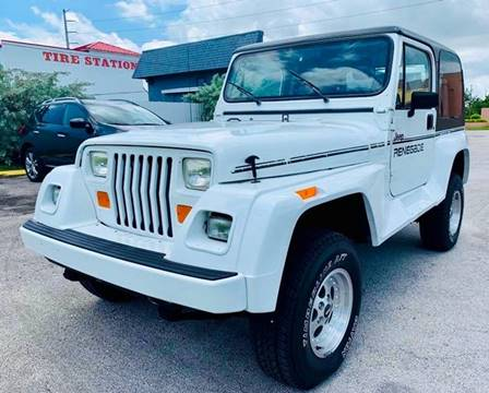 1993 Jeep Wrangler for sale in North Miami, FL