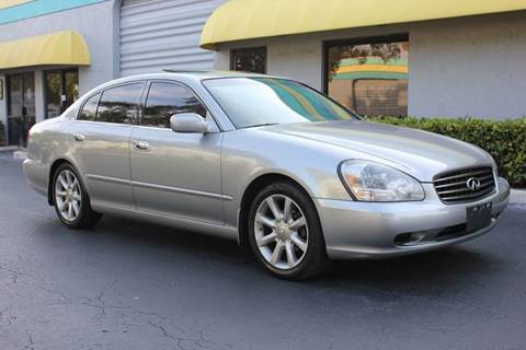 2002 Infiniti Q45 for sale in Davie, FL