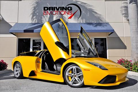 Lambo For Sale >> 2008 Lamborghini Murcielago For Sale In Lake Park Fl