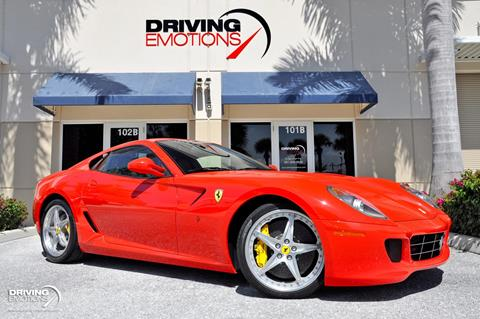 2008 Ferrari 599 GTB Fiorano for sale in Lake Park, FL