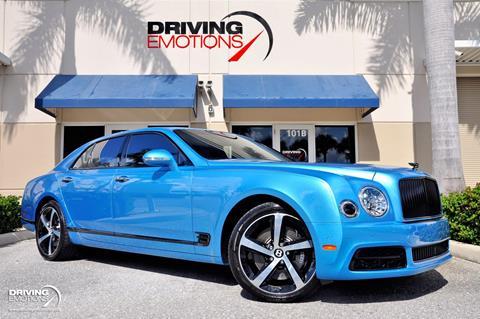 2018 Bentley Mulsanne for sale in Lake Park, FL