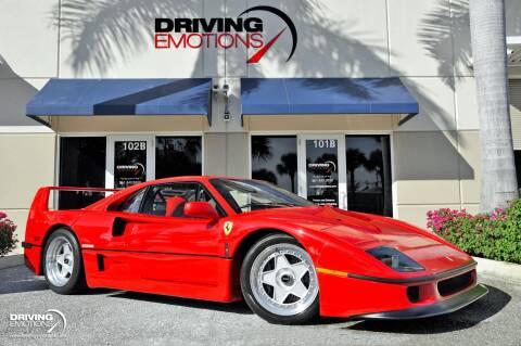 Used Car Dealerships Tyler Tx >> Used Ferrari F40 For Sale In Tyler Tx Carsforsale Com