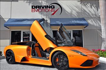 2007 Lamborghini Murcielago for sale in Lake Park, FL