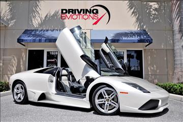2008 Lamborghini Murcielago for sale in Lake Park, FL