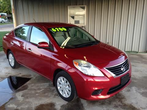 2012 Nissan Versa for sale in Mc Gregor, TX