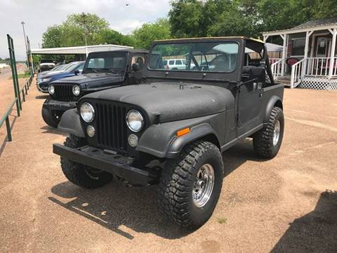 1982 Jeep CJ-7 for sale in Mcgregor, TX
