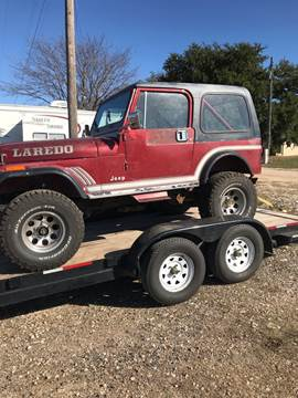 1985 Jeep CJ-7 for sale in Mcgregor, TX