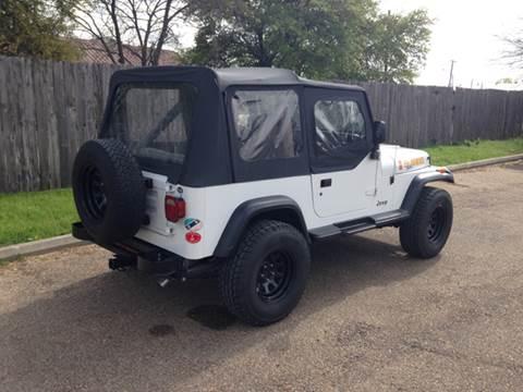 1990 Jeep Wrangler for sale in Mc Gregor, TX