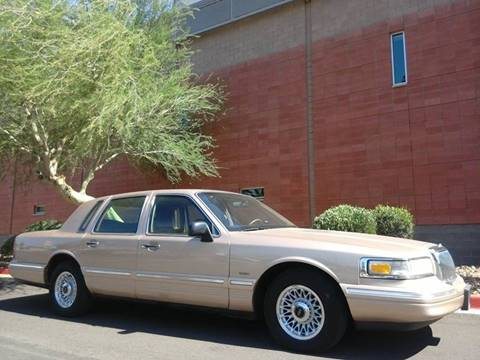 1996 Lincoln Town Car for sale in Phoenix, AZ