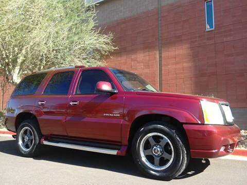 2002 Cadillac Escalade for sale in Phoenix, AZ