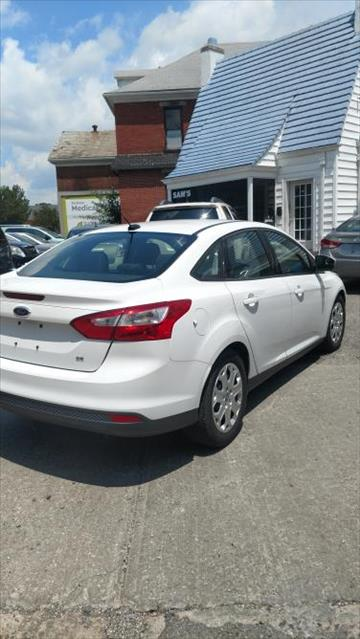 2012 Ford Focus for sale at Sam's Used Cars in Zanesville OH
