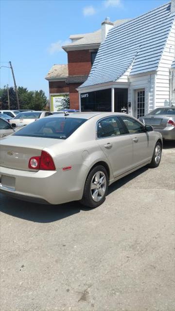 2010 Chevrolet Malibu for sale at Sam's Used Cars in Zanesville OH