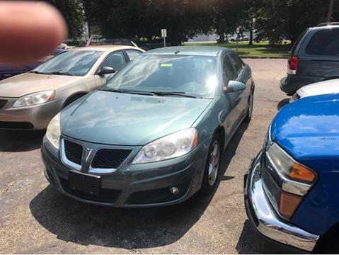 2009 Pontiac G6 for sale at Sam's Used Cars in Zanesville OH
