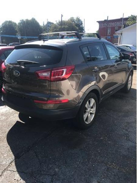 2013 Kia Sportage for sale at Sam's Used Cars in Zanesville OH