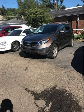 2013 Kia Sportage for sale at Sam's Used Cars in Zanesville OH