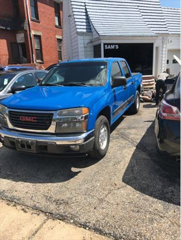 2008 GMC Canyon for sale at Sam's Used Cars in Zanesville OH
