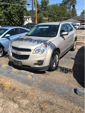 2011 Chevrolet Equinox for sale at Sam's Used Cars in Zanesville OH