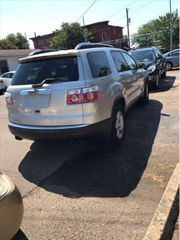 2008 GMC Acadia for sale at Sam's Used Cars in Zanesville OH