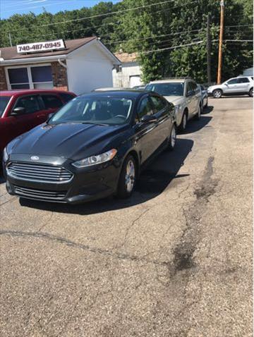 2013 Ford Fusion for sale at Sam's Used Cars in Zanesville OH