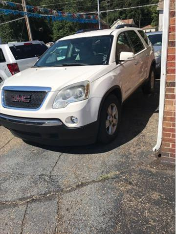 2007 GMC Acadia for sale at Sam's Used Cars in Zanesville OH