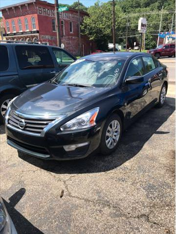 2013 Nissan Altima for sale at Sam's Used Cars in Zanesville OH
