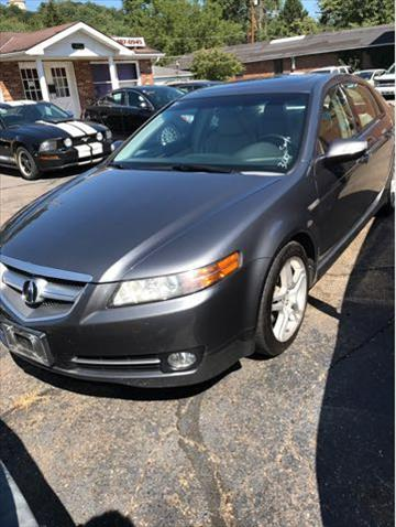 2008 Acura TL for sale at Sam's Used Cars in Zanesville OH