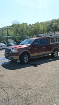 2006 Ford F-150 for sale at Sam's Used Cars in Zanesville OH