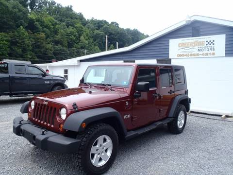 2008 Jeep Wrangler Unlimited for sale in Morgantown, WV